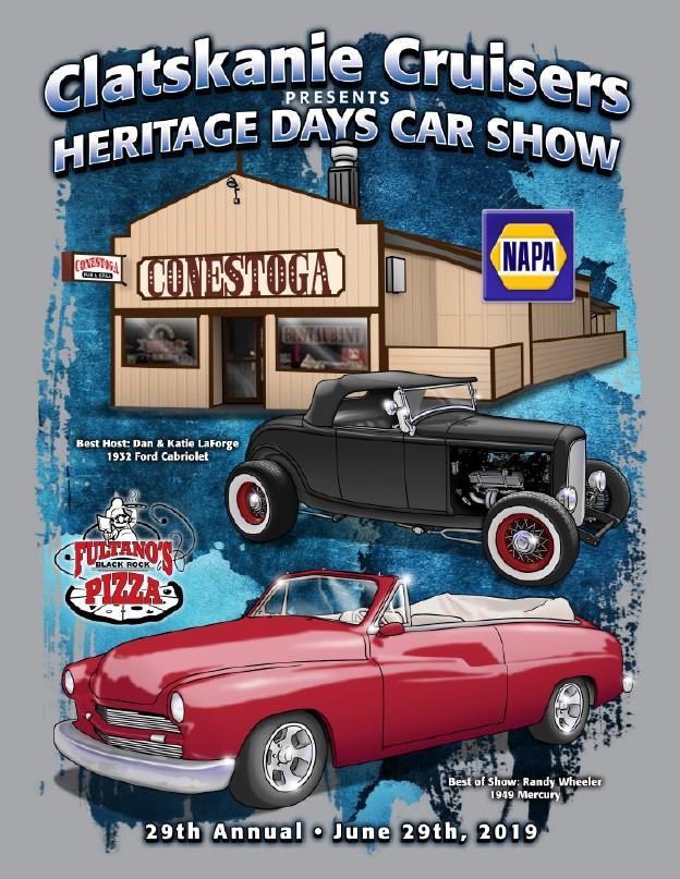 Car Show Flyer 2019